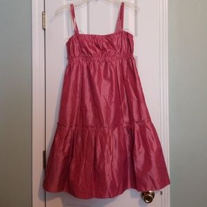Women's BCBG dress tiered spaghetti strap
